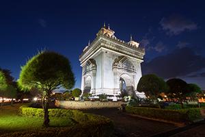 Patuxay ehk teisisõnu Vientiane Võiduvärav Laoses.