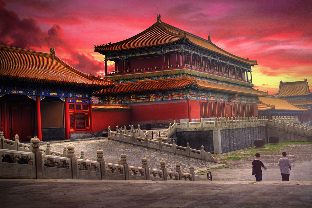 Keelatud linn Hiina keisririigi keskuseks
