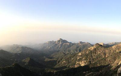 Taishan keisrite mägi