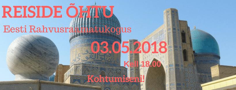 Reiside õhtu, 03.05.2018, Seeder Reisid