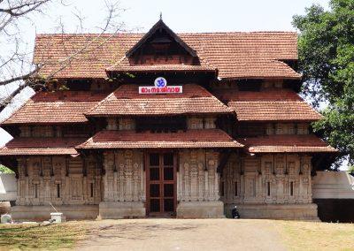 Vadakkumnathani tempel