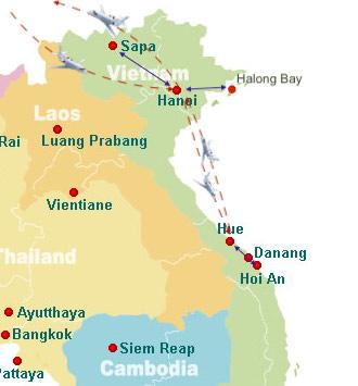 Vietnam-2020-kaart